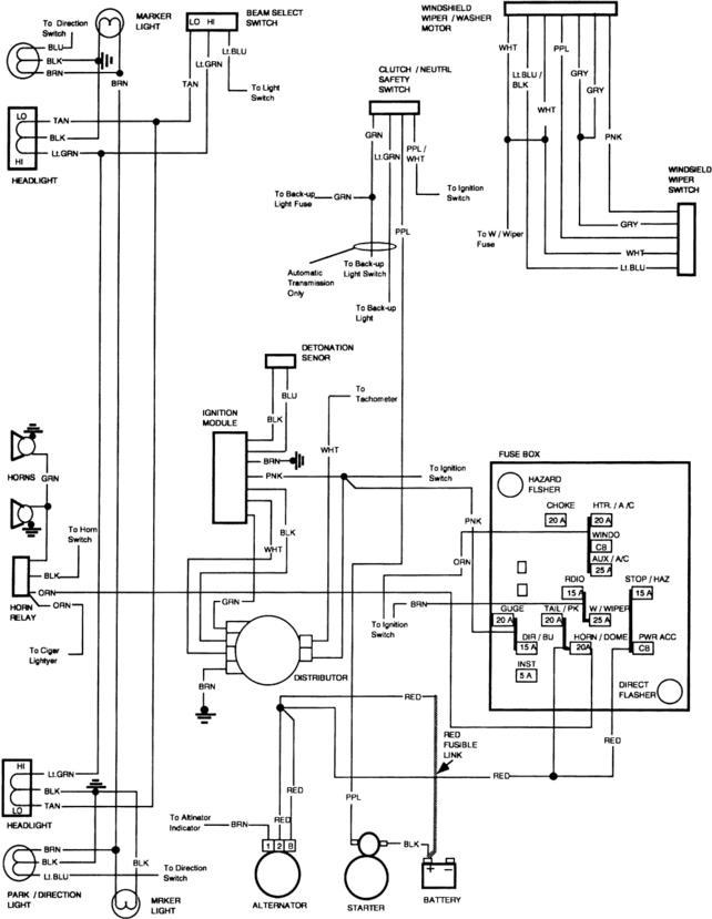 82 Ford Alternator Wiring Diagram