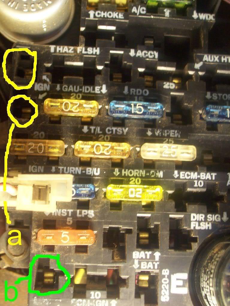 [SCHEMATICS_48DE]  Chevy K10 Fuse Box - 9000 Lb Eagle Lift Wiring Diagram for Wiring Diagram  Schematics | 1984 Chevy Pickup Fuse Box |  | Wiring Diagram Schematics