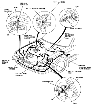 1998 Honda Prelude Engine Diagram