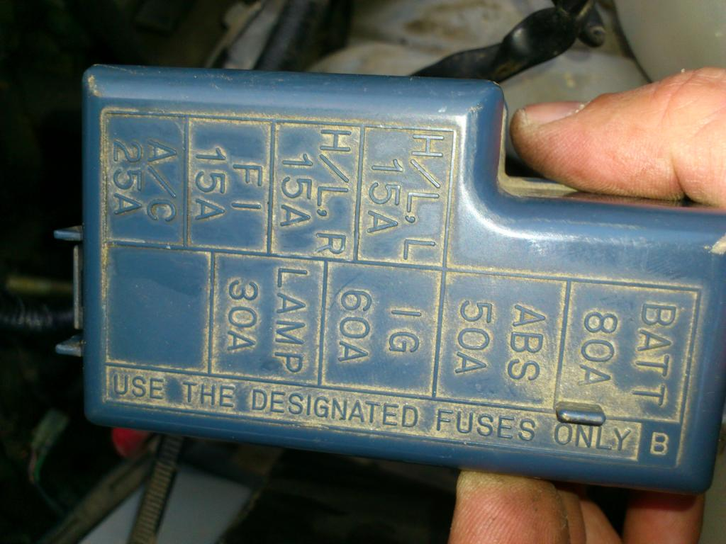 hight resolution of 1994 geo tracker fuse box diagram