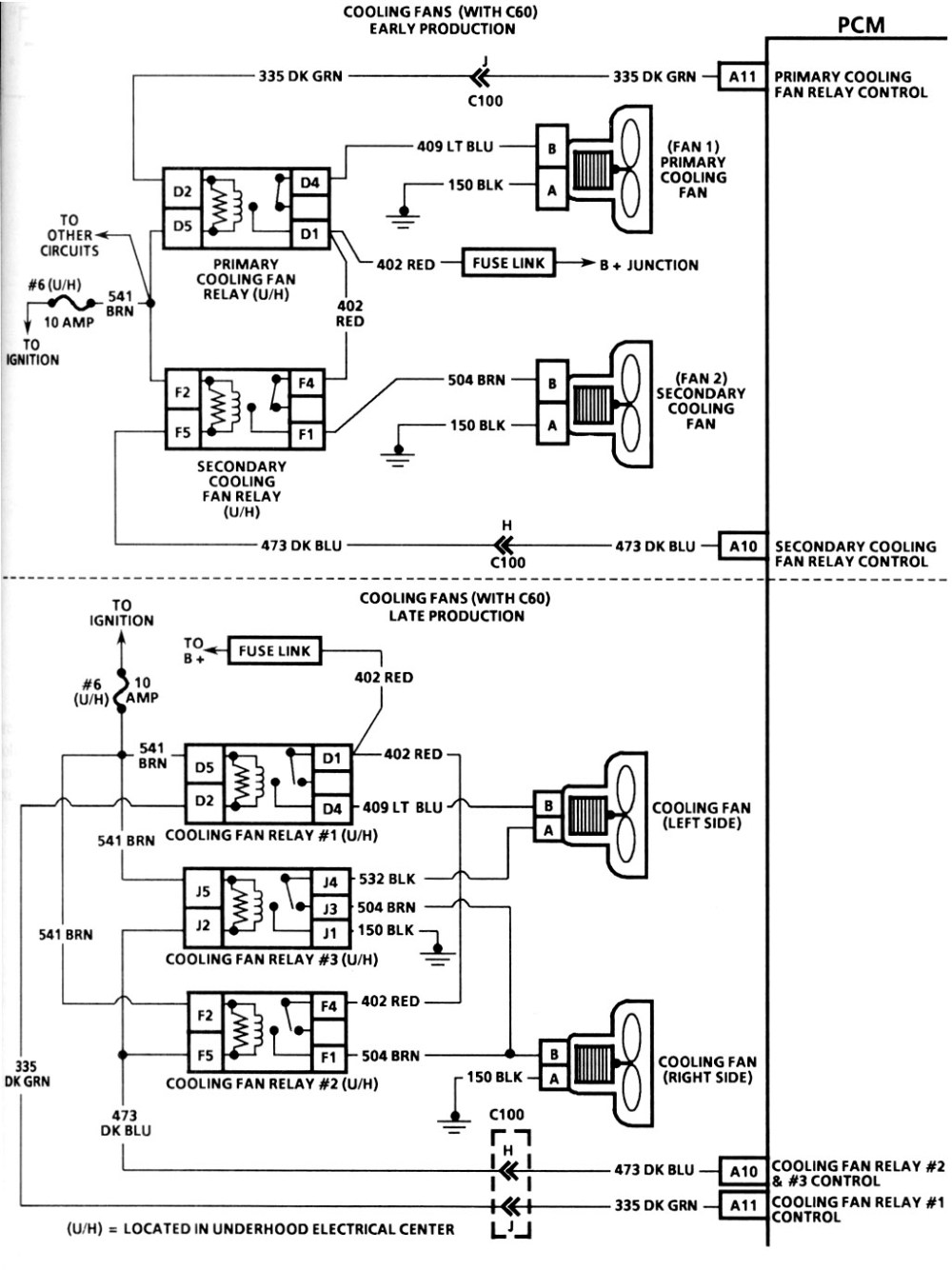 medium resolution of 1995 chevy camaro cooling fan wiring diagram
