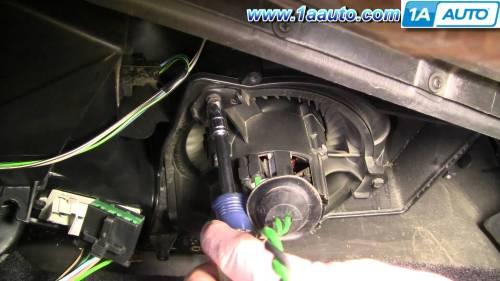 small resolution of 1997 dodge dakota heater blower motor replacement