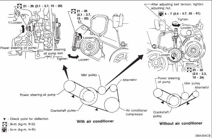 1997 Infiniti J30 Belt Diagram