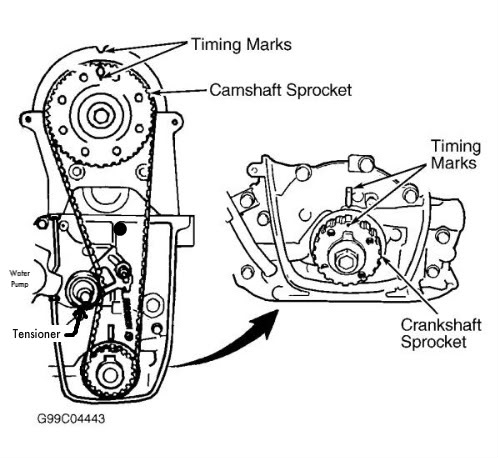 Toyota Timing Chain Toyota Dipstick Wiring Diagram ~ Odicis