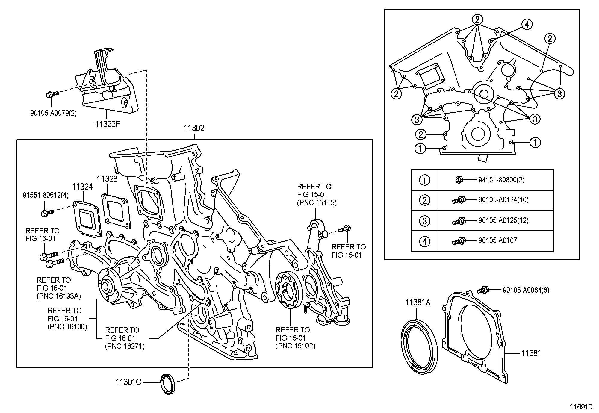 2005 Toyota Sienna Timing Belt Diagram