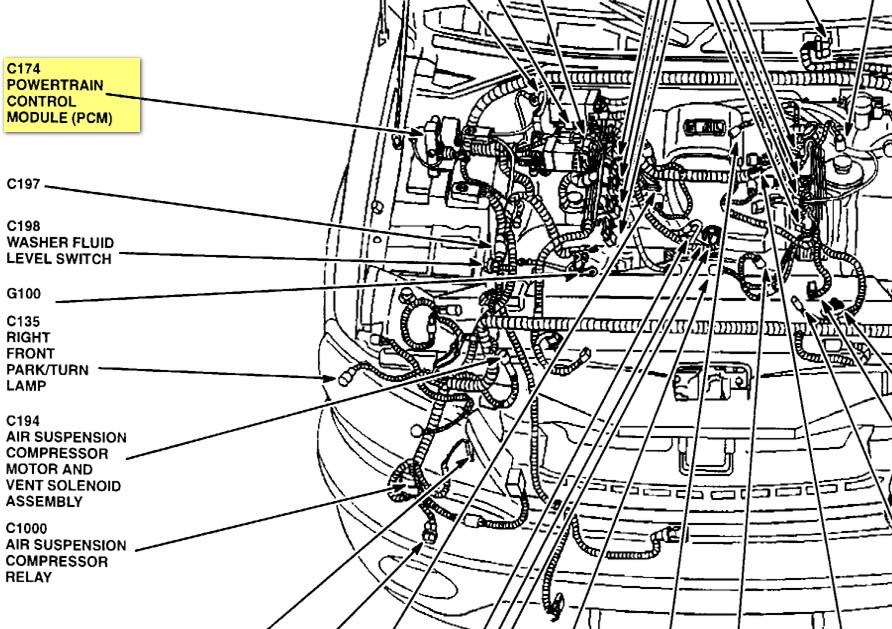 2001 ford eddie bauer expedition 4wd 5 4 liter engine diagram - www
