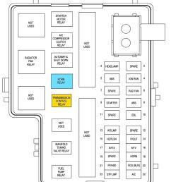2000 ford taurus fuse box diagram [ 965 x 1205 Pixel ]