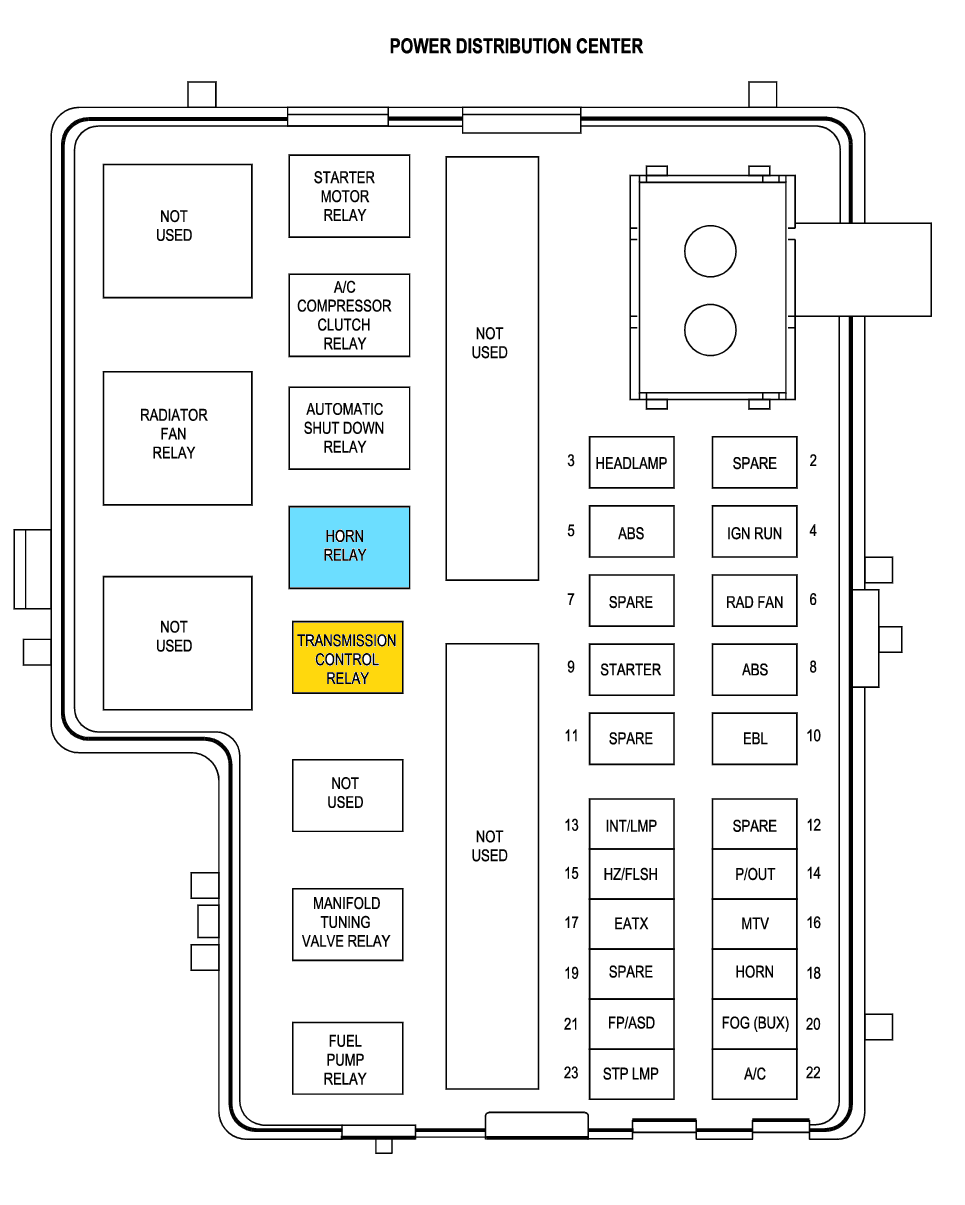 hight resolution of 2000 ford taurus fuse box diagram