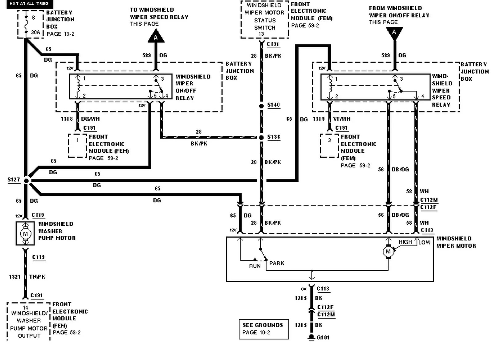hight resolution of wiring schematic for 1999 windstar data wiring diagram 1999 ford windstar wiring schematics wiring diagram technic