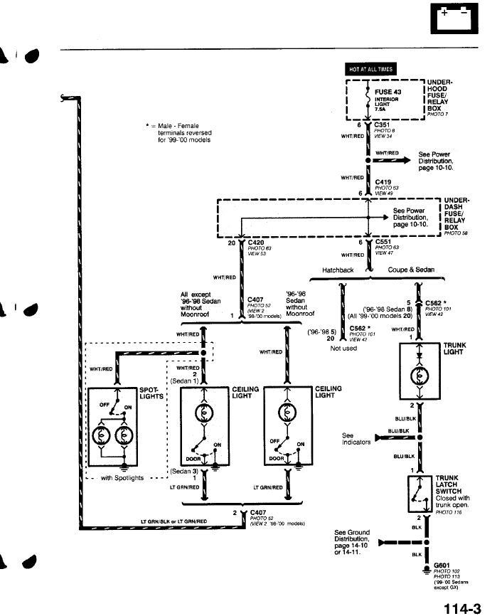 2005 Honda Pilot Radio Wiring Diagram