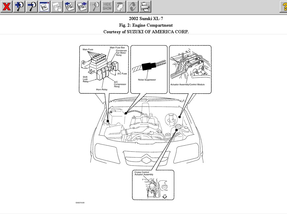 2000 suzuki grand vitara fuse diagram