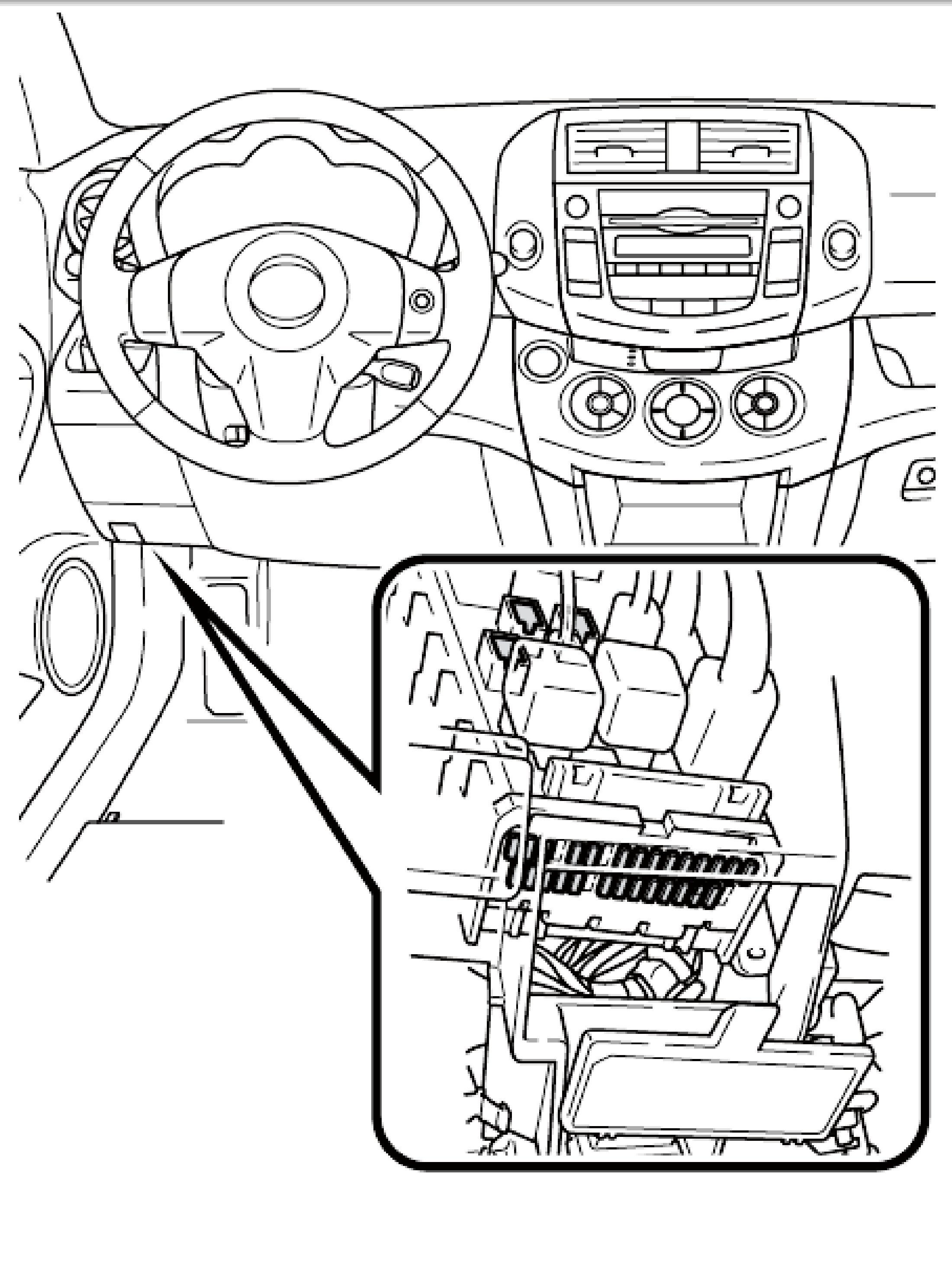 2005 TOYOTA AVALON FUSE BOX    DIAGRAM     Auto Electrical
