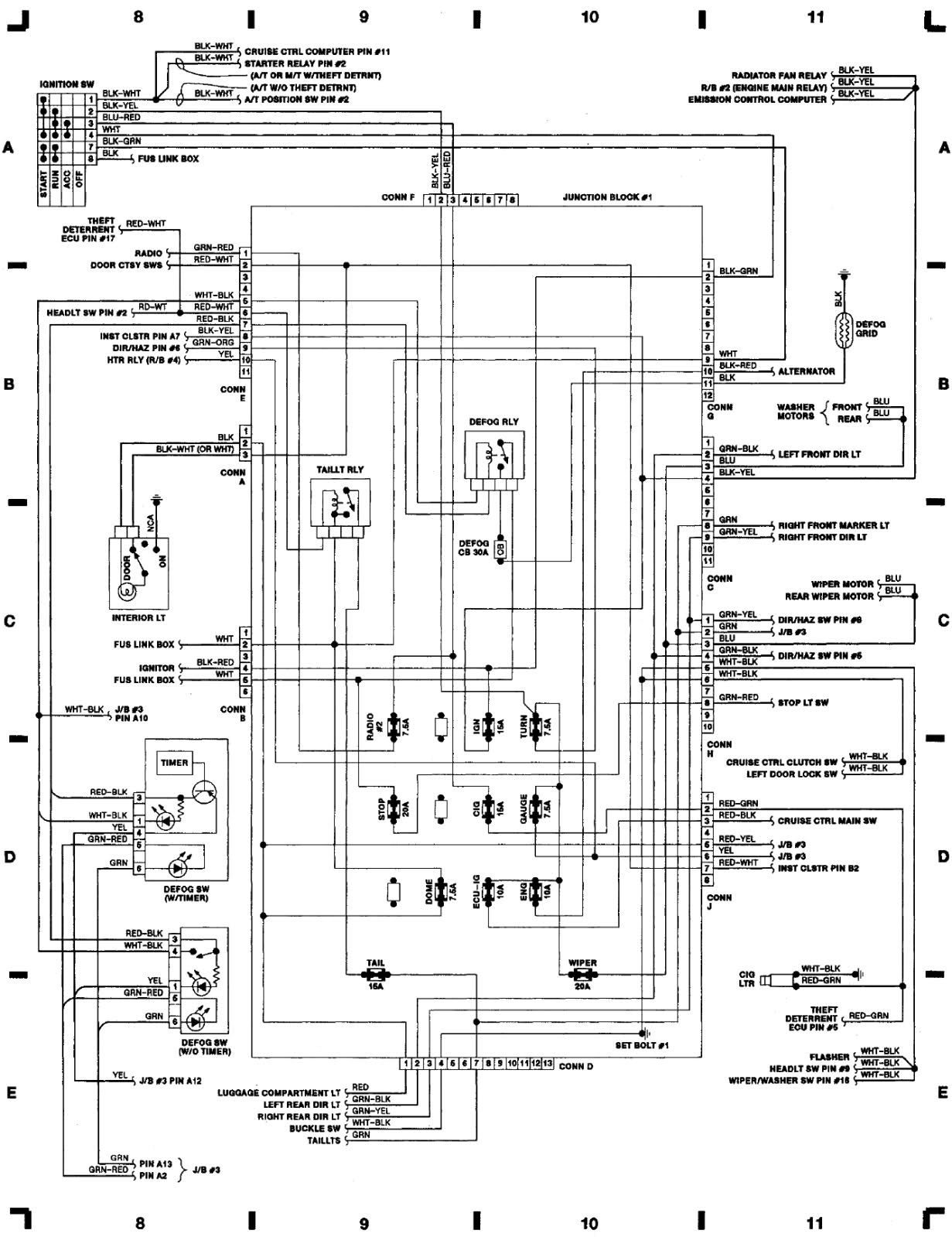 Toyota Celica Full Wiring Diagram