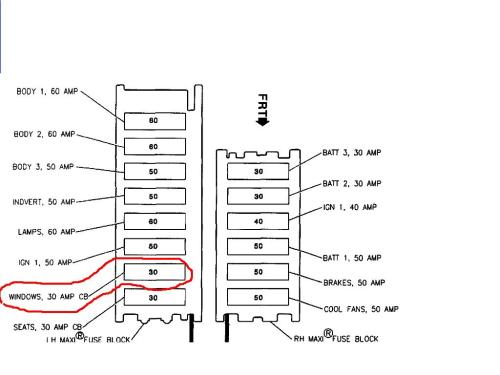 small resolution of 1990 cadillac sedan deville fuse box diagram