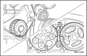 2000 Daewoo Nubira Timing Marks  Diagrams online