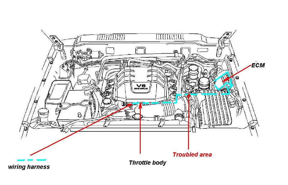 99 Isuzu Rodeo Engine Diagram