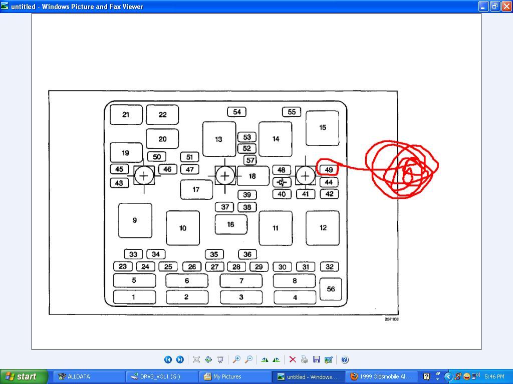 Alero Fuse Box Diagram