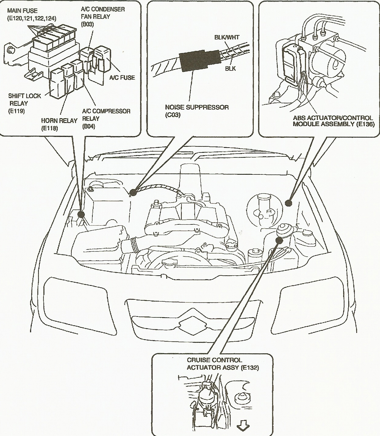 hight resolution of fuse box diagram for 1999 suzuki grand vitara wiring diagram 2001 suzuki grand vitara 1999 suzuki grand vitara wiring diagram