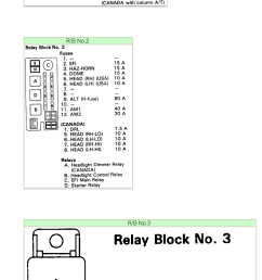 2001 toyota camry fuse box diagram [ 728 x 1589 Pixel ]