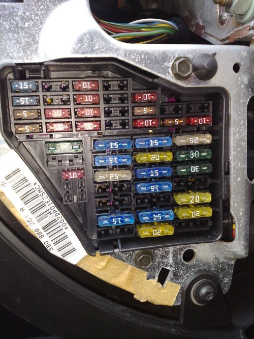 small resolution of 2001 volkswagen passat fuse box location