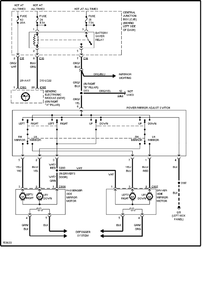 2002 Ford Focus Wiring Diagram / 2002 Ford Focus Relay