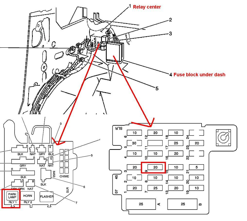 [DIAGRAM] Interior Fuse Box 1999 Chevy Astro Van FULL