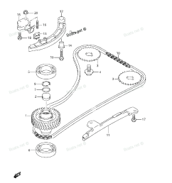 2003 ford taurus engine diagram of timing chain [ 1200 x 1700 Pixel ]