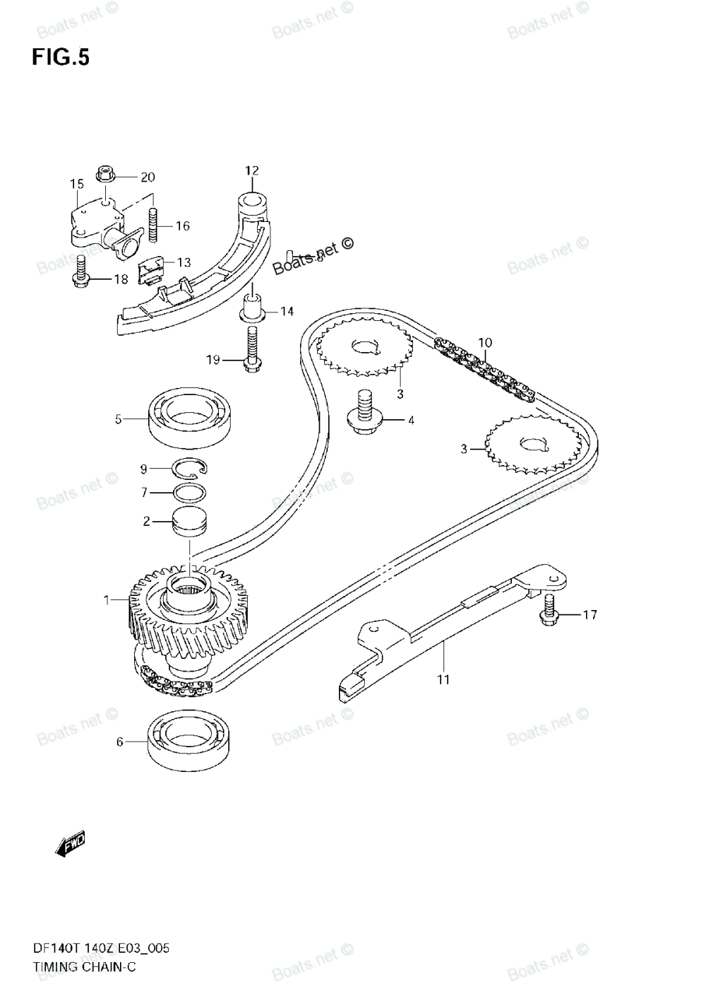 medium resolution of 2003 ford taurus engine diagram of timing chain
