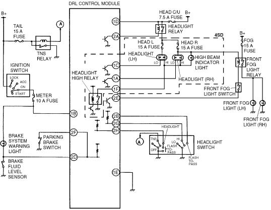 2002 Ford Taurus Headlight Wiring Diagram Database