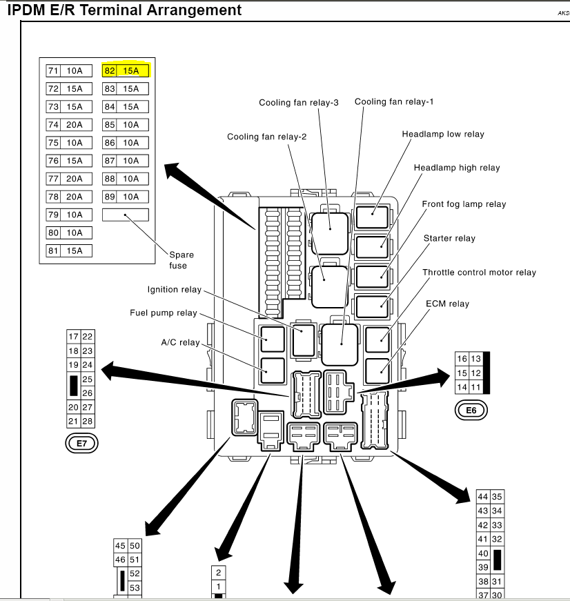2001 infiniti g20 fuse box diagram