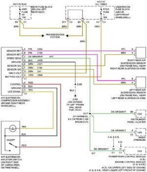Delco Radio Wiring Diagram 2004 Trailblazer Buick Rainier