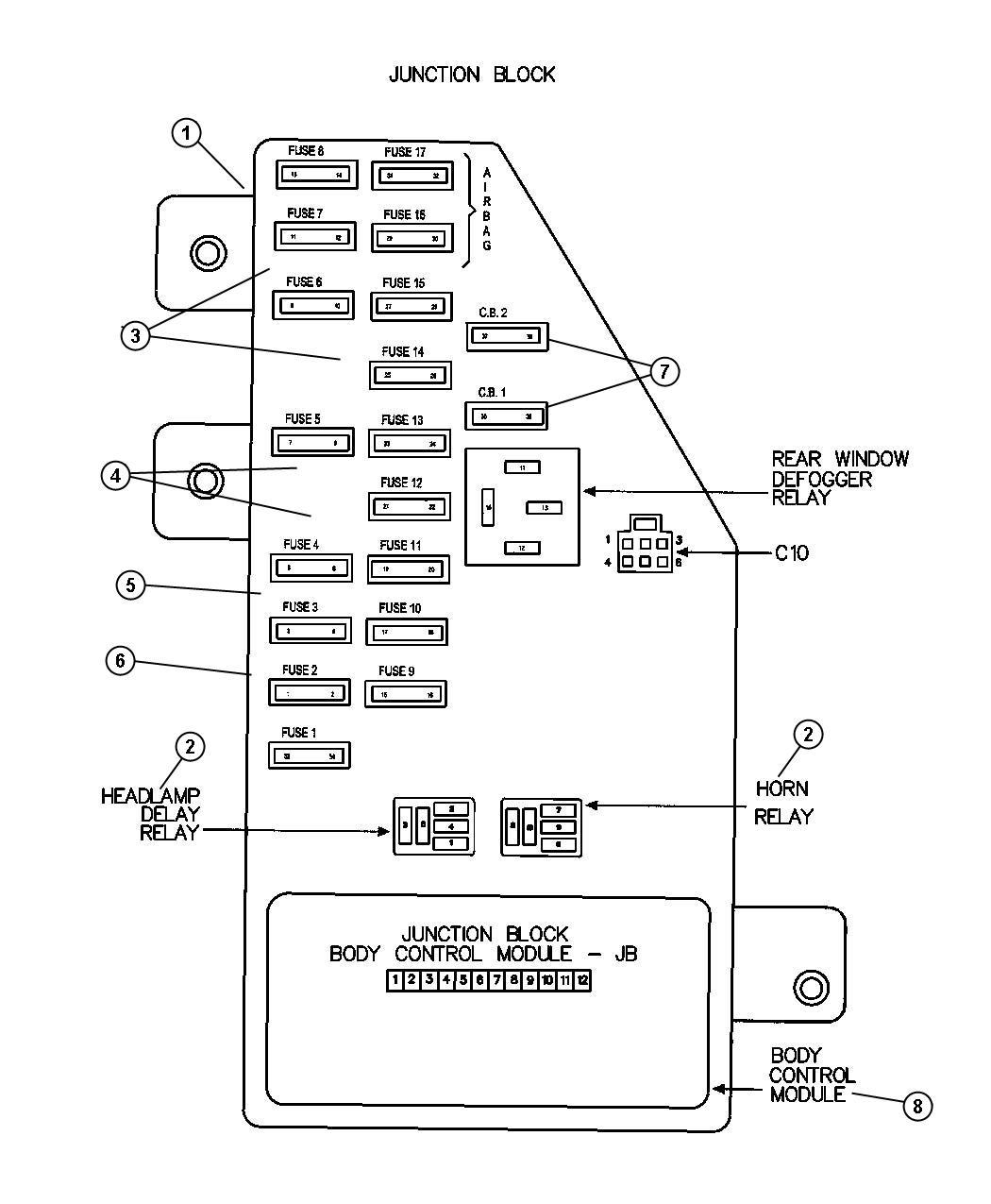 2003 dodge ram 1500 power window wiring diagram mini usb car charger 2001 fuse box stratus schema2001 intrepid location manual e books
