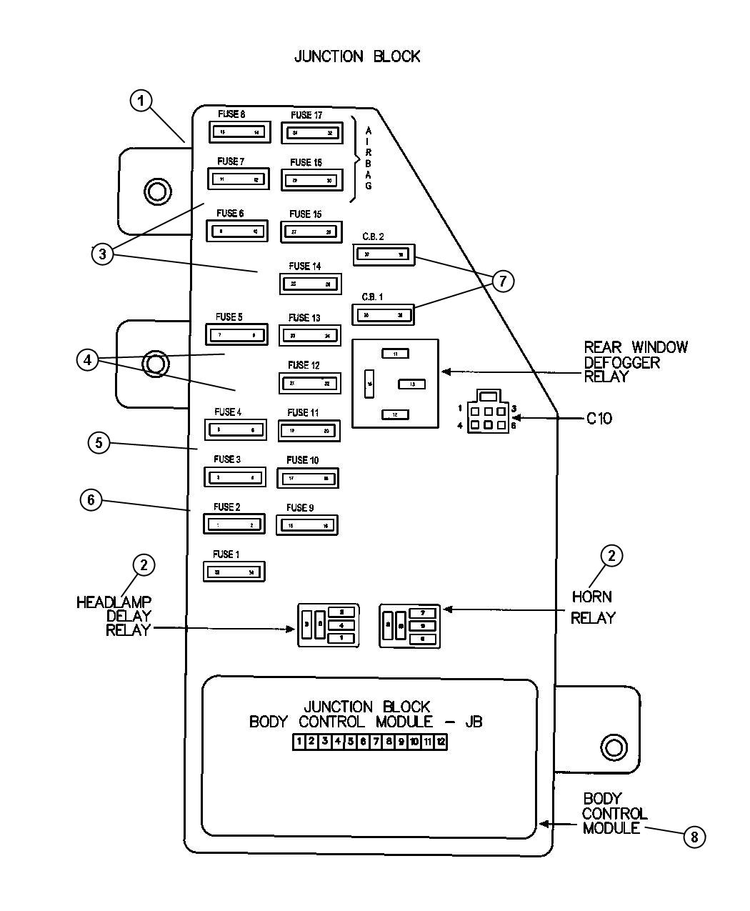 hight resolution of 04 dodge stratus wiring diagram wiring library2004 dodge stratus fuse box diagram