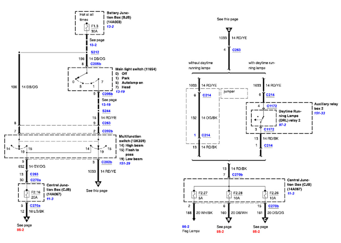 2004 ford f 250 tail light wiring diagram wiring diagrams