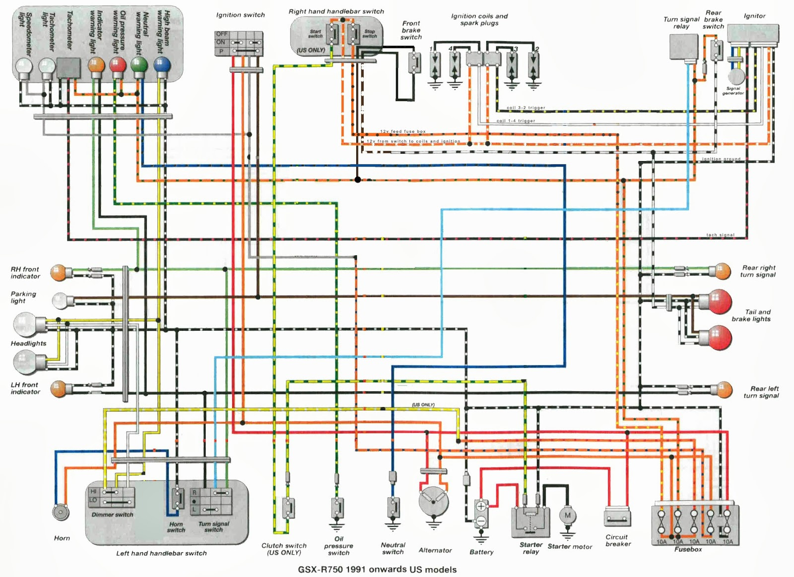 1995 Gsxr 1100 Wiring Diagram ( Simple Electronic Circuits ) \u2022 Suzuki  Bandit 1200 Wiring Diagram 1993 Suzuki Gsxr 1100 Wiring Diagram