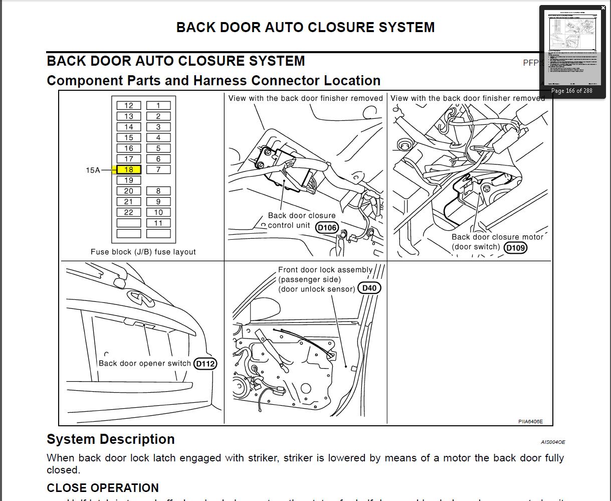 infiniti fuse box location wiring diagram 2019