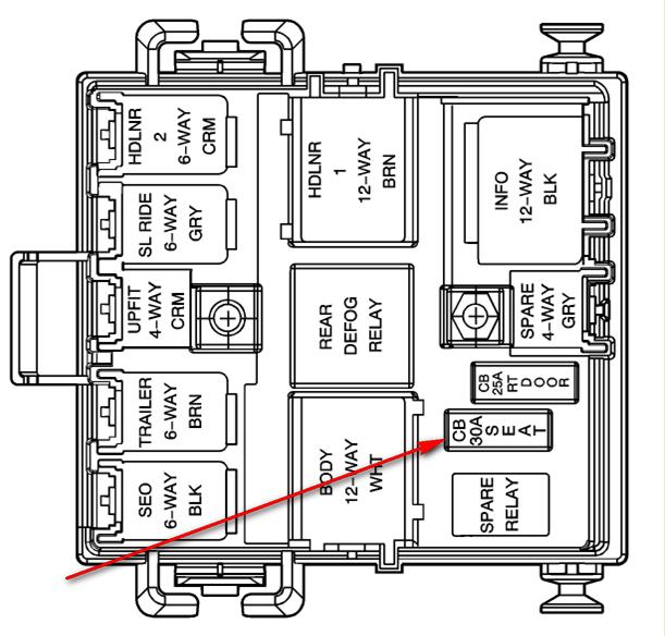 Wiring Diagram PDF: 2003 Cadillac Escalade Fuse Box Diagram