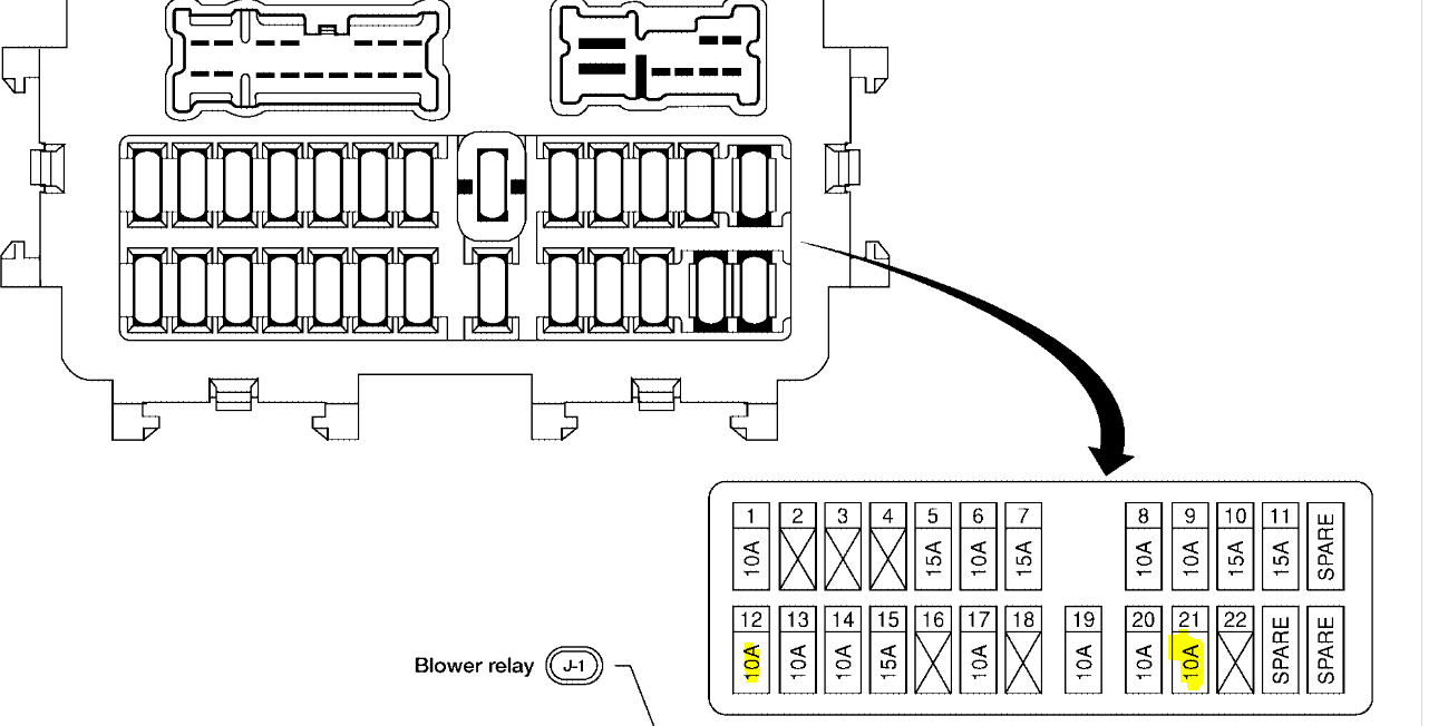 File: 08 Nissan Xterra Fuse Box