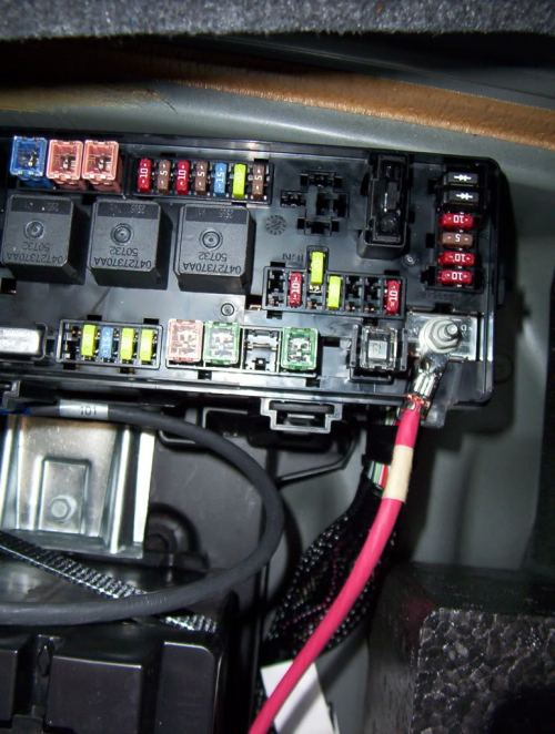 small resolution of 2006 dodge charger fuse box location