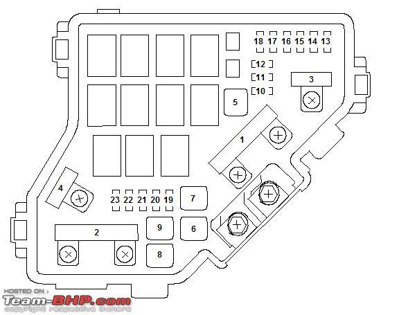 2006 350 Honda Rancher Fuse Box Diagram