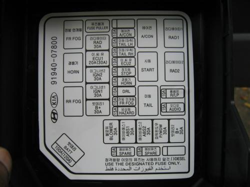 small resolution of 2006 kia amanti fuse box diagram