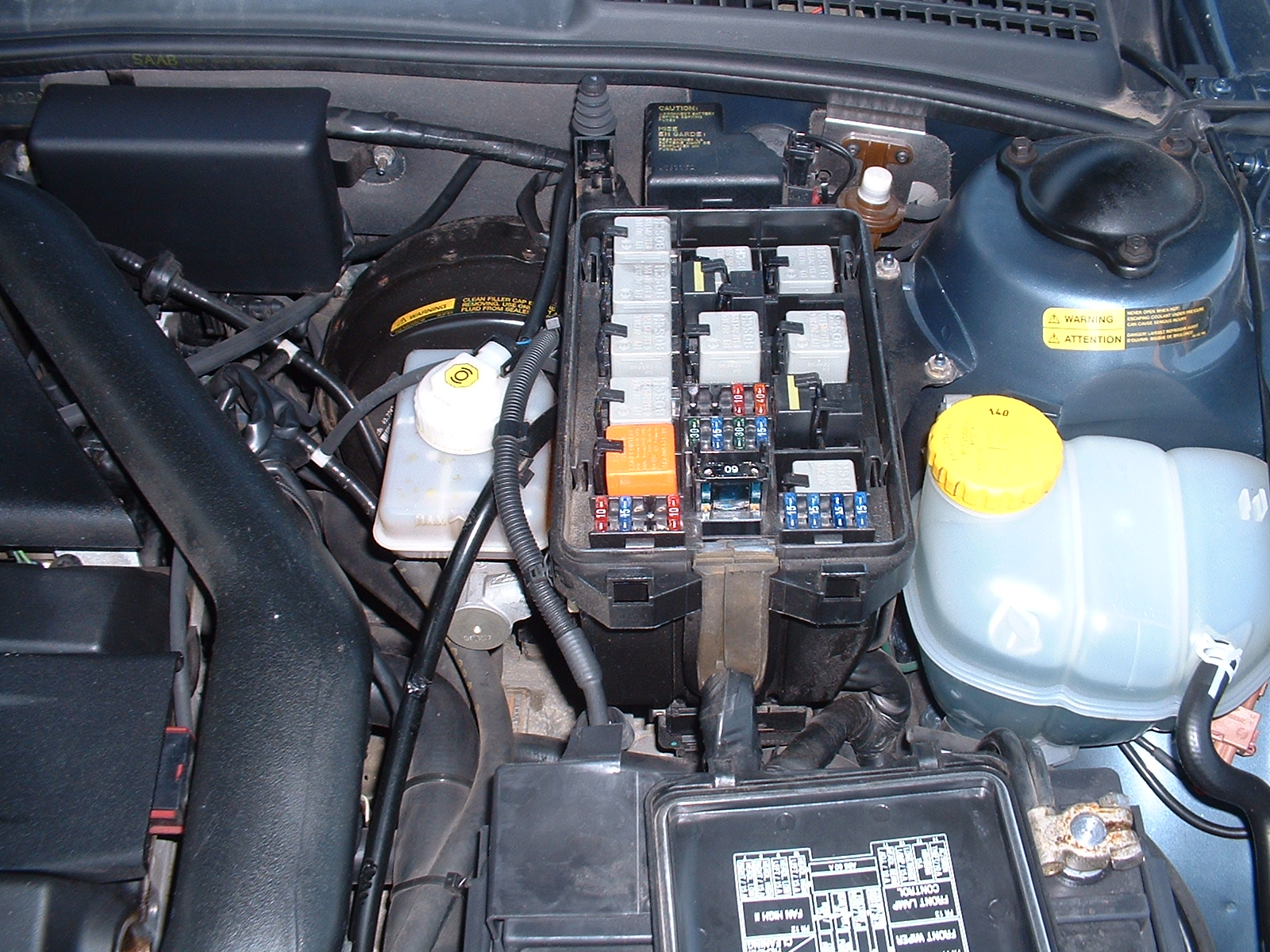 hight resolution of saab 95 fuse box wiring diagram technic 2002 saab 9 5 fuse box diagram fuse