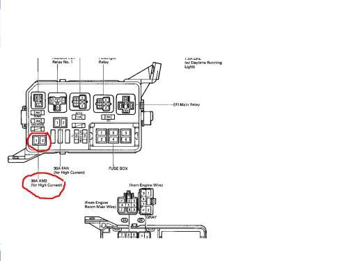 small resolution of 95 toyota corolla fuse box diagram wiring library2006 toyota corolla fuse box diagram