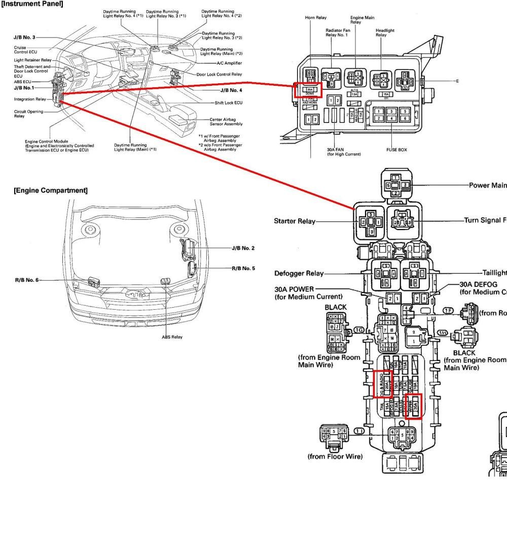 medium resolution of 2006 toyota corolla fuse box diagram