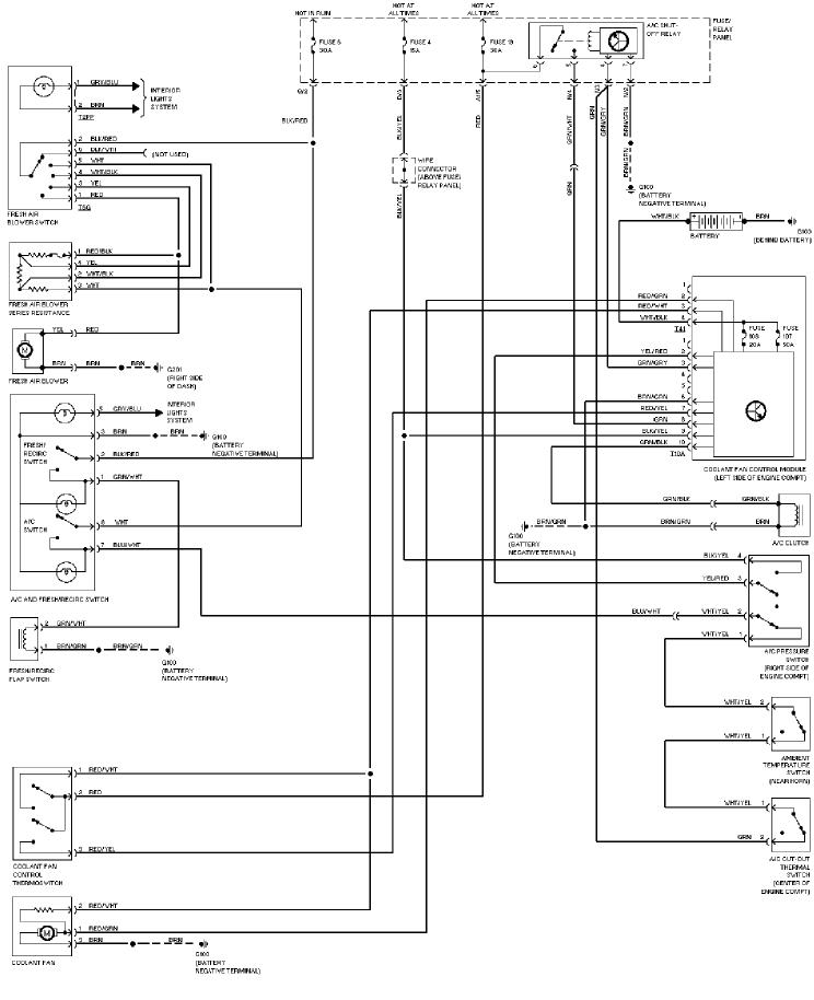 Vw Ac Wiring - Directory Wiring Diagram Ac Wiring Diagram Beetle on