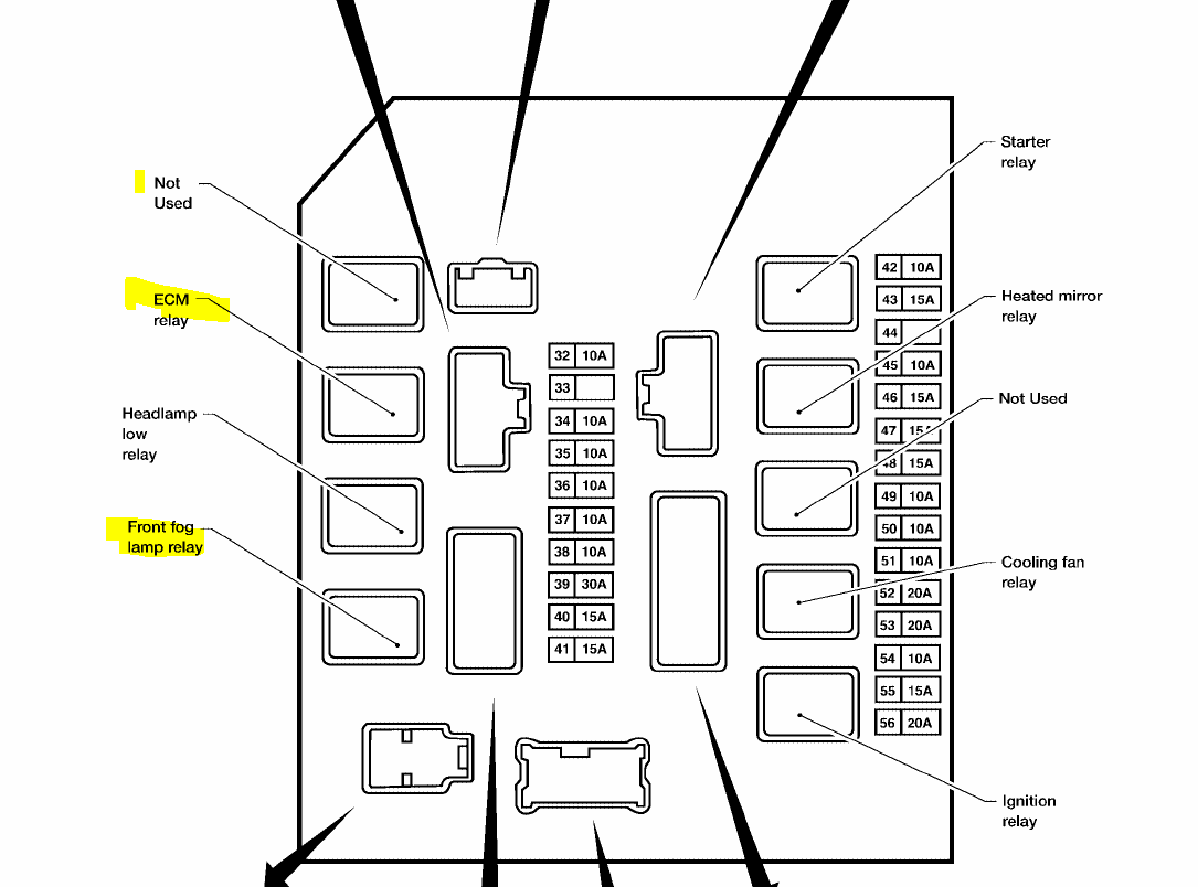Nissan Altima 25s Fuse Box Diagram