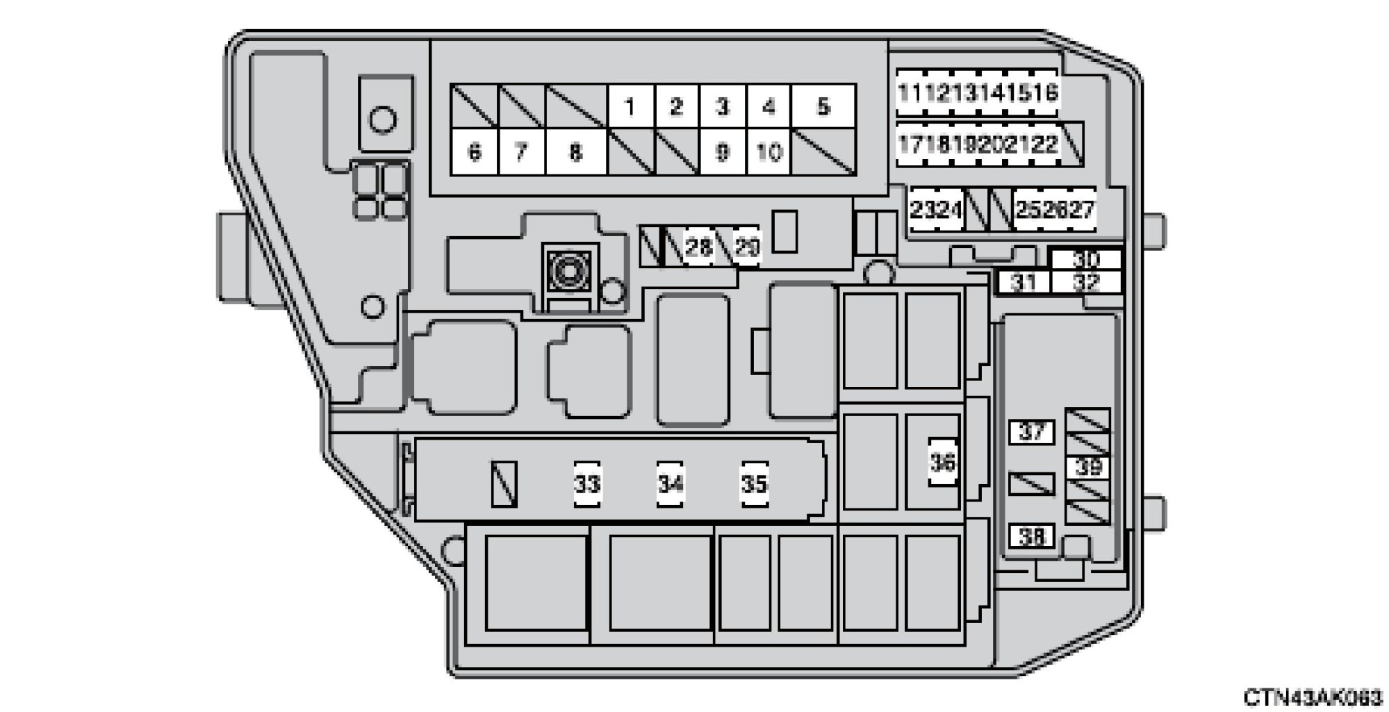 hight resolution of 2007 toyota camry fuse box location