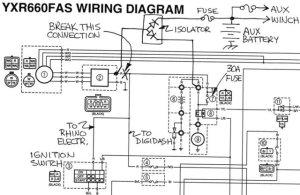 Yamaha Raptor Wiring Diagram  Wiring Diagram And Schematics