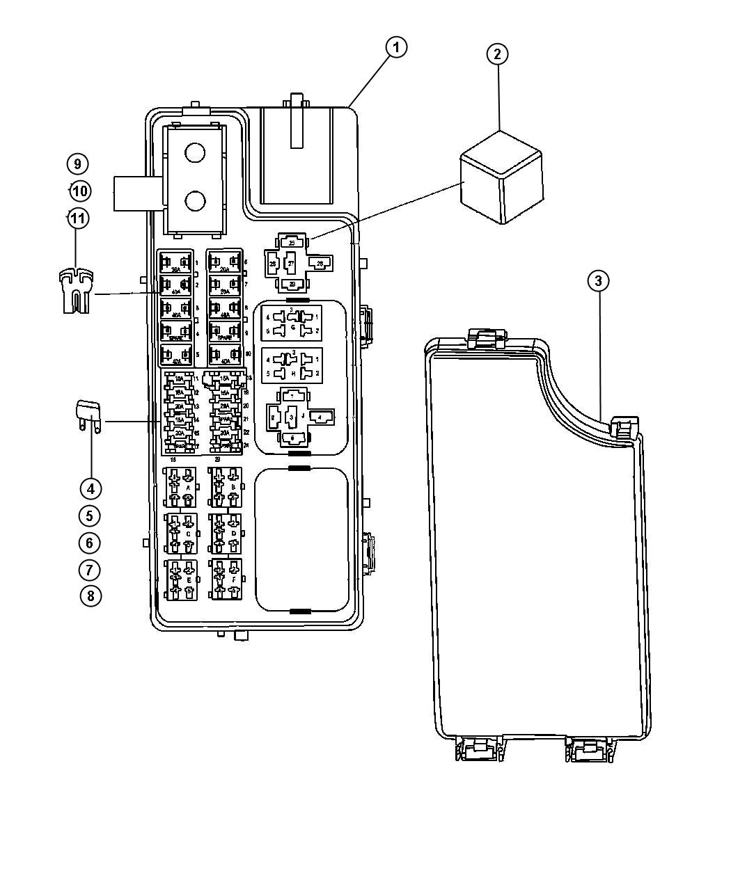 hight resolution of 2008 jeep compass fuse box location