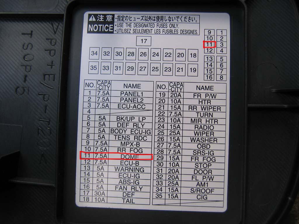 hight resolution of 2009 toyota corolla fuse box location